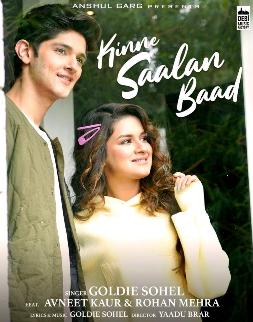 Kinne Saalan Baad Punjabi Song Lyrics, Sung By Goldie Sohel