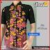 BTK140 Baju Ecer Hem Batik Abasia Modis Murah BMGShop