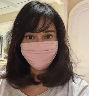 masker kain Dian Sastro