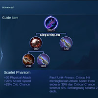 penjelasan lengkap scarlet phantom item mobile legends