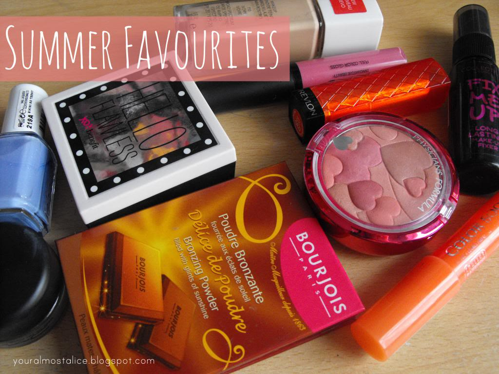 Top Ten Summer Beauty Favourites