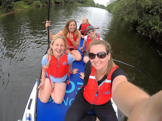 Paddleboarding River Wye