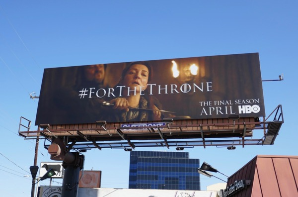Game of Thrones Red Wedding billboard