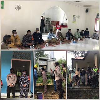 Senegiritas TNI/Polri pantau acara Syukuran di Dusun dua Pulau lipan Desa Penuba