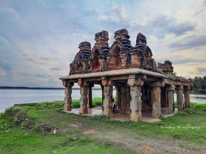 Shri Mallikarjuna Temple of Basaralu and the Koppa Lake