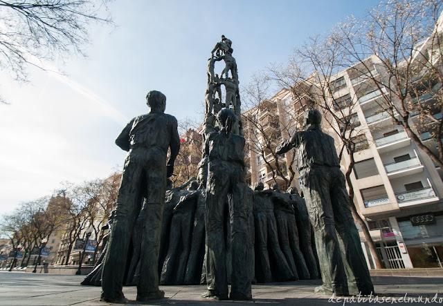Estatua de los Castellers