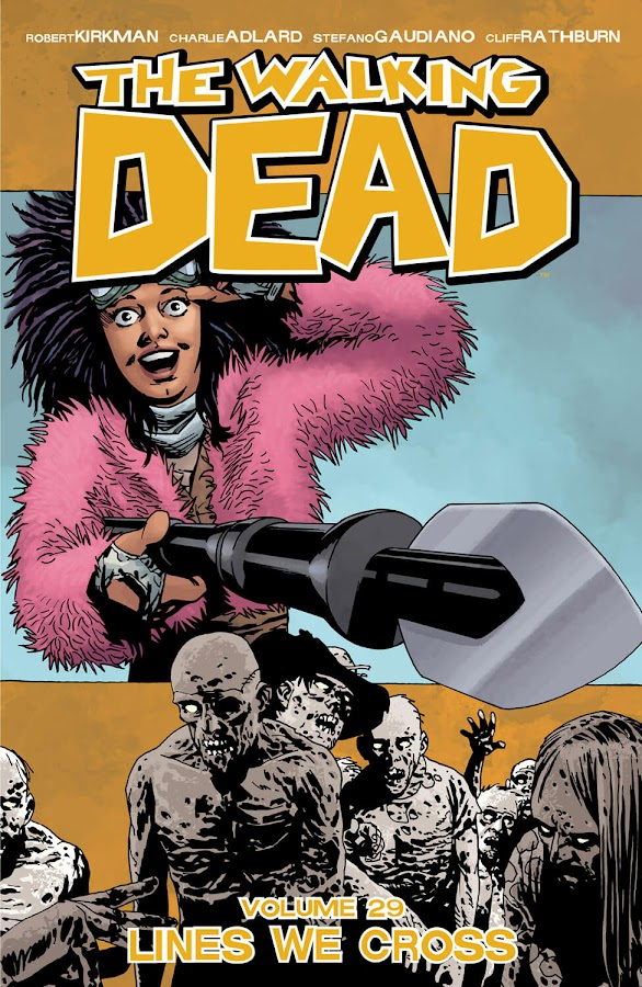 the walking dead lines we cross comics cover image robert kirkman