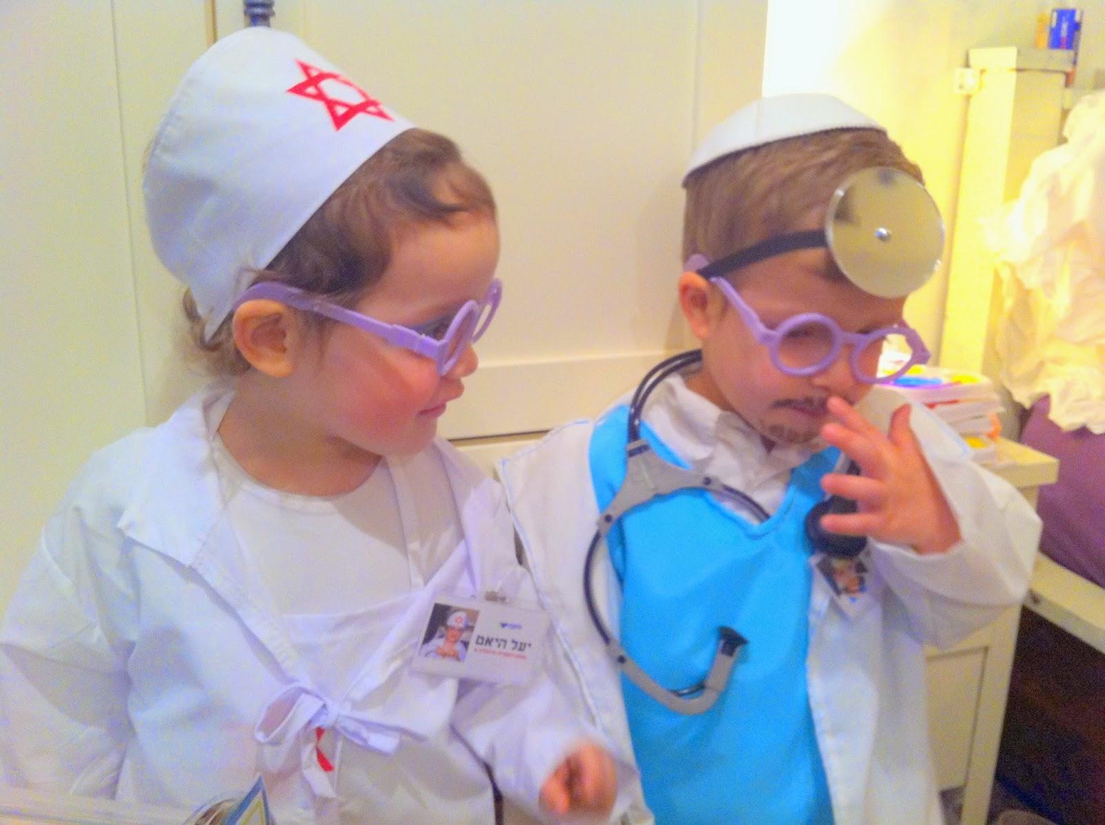 IMG 5308 - התחפשנו לרופאים!!!