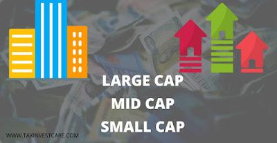 Large cap mid cap small cap