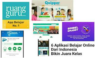 6 Aplikasi Belajar Online Dari Indonesia Ini Bikin Juara Kelas