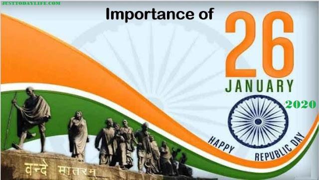 speech on republic day 26 january, 26 january 2020