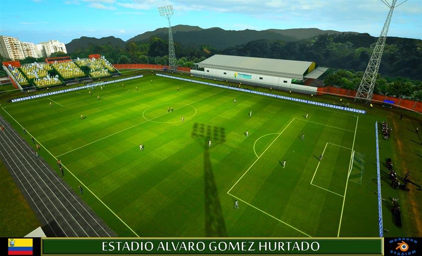 Estadio Alvaro Gomez Hurtado For PES 2013
