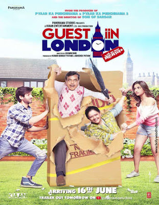 Guest In London 2017 Hindi DVDScr 350MB x264
