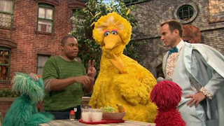 Rosita, Chris, Max the Magician, Will Arnett, Big Bird, Elmo, Sesame Street Episode 4323 Max the Magician season 43