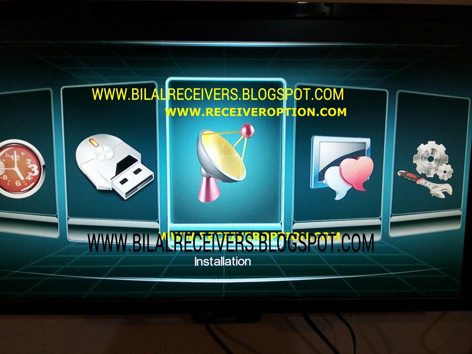 SUPER MAX SM 3000 HD 3G RECEIVER POWERVU KEY SOFTWARE - BILAL DISH