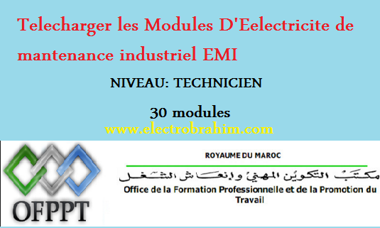 Telecharger Les Modules D Eelectricite De Mantenance