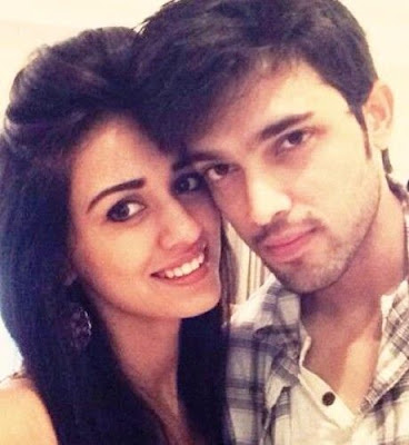Parth Samthaan with his gf Disha Patani