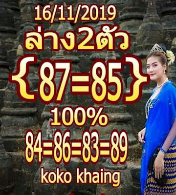 Thai Lotto VIP Tips Lucky Number Facebook Timeline 16 November 2019