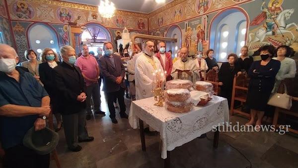 Κυριακή 18 Οκτωβρίου 2020,  εορτασμός του Αγίου Ευαγγελιστή Λουκά στην Στυλίδα