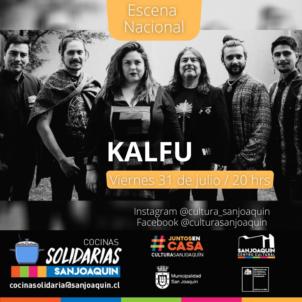 Kalfu canta desde San Joaquín al mundo