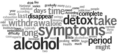 How long does alcohol withdrawal last ?