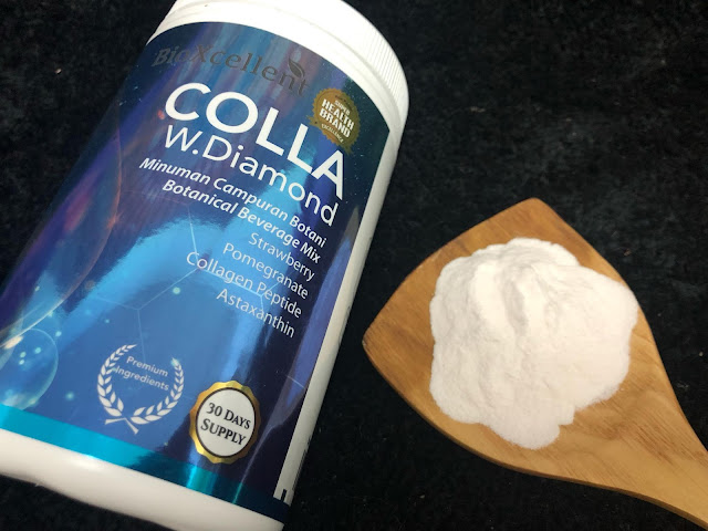 Colla White Diamond dari BioXcellent