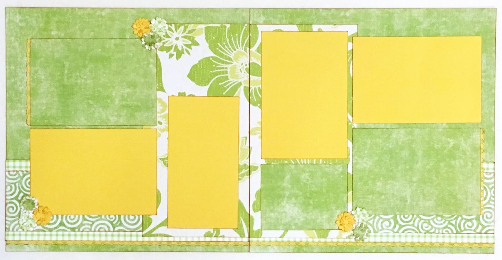 Scrapbook ideas new orleans - Scrapbook Layouts Nature Check Out The New 2 Page Layout Kit Created By Melissa Gross