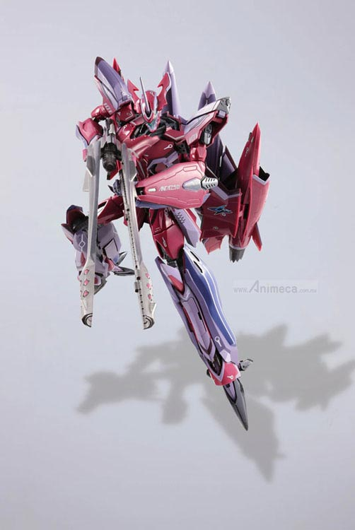 FIGURA DX CHOGOKIN VF-27γ (Gamma) LUCIFER VALKYRIE Super Parts Set Macross Frontier