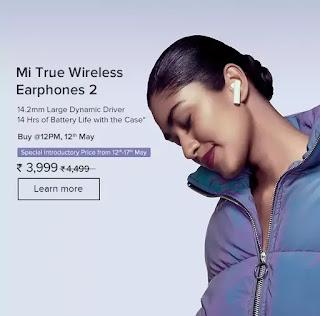 Mi 10 price, mi wireless earphone 2 , mi box price