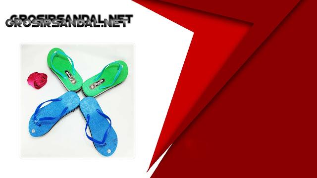 Sandal Wedges RSL TG || Sandal Spon Termurah di Garut