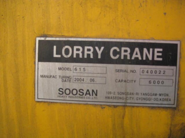 Mâm quay toa cẩu Soosan 6 tấn - SCS615
