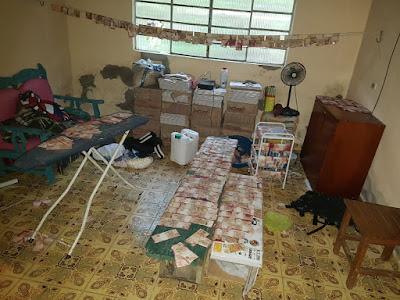 Policia Militar troca tiros com quadrilha que roubou Banco do Brasil de Miracatu