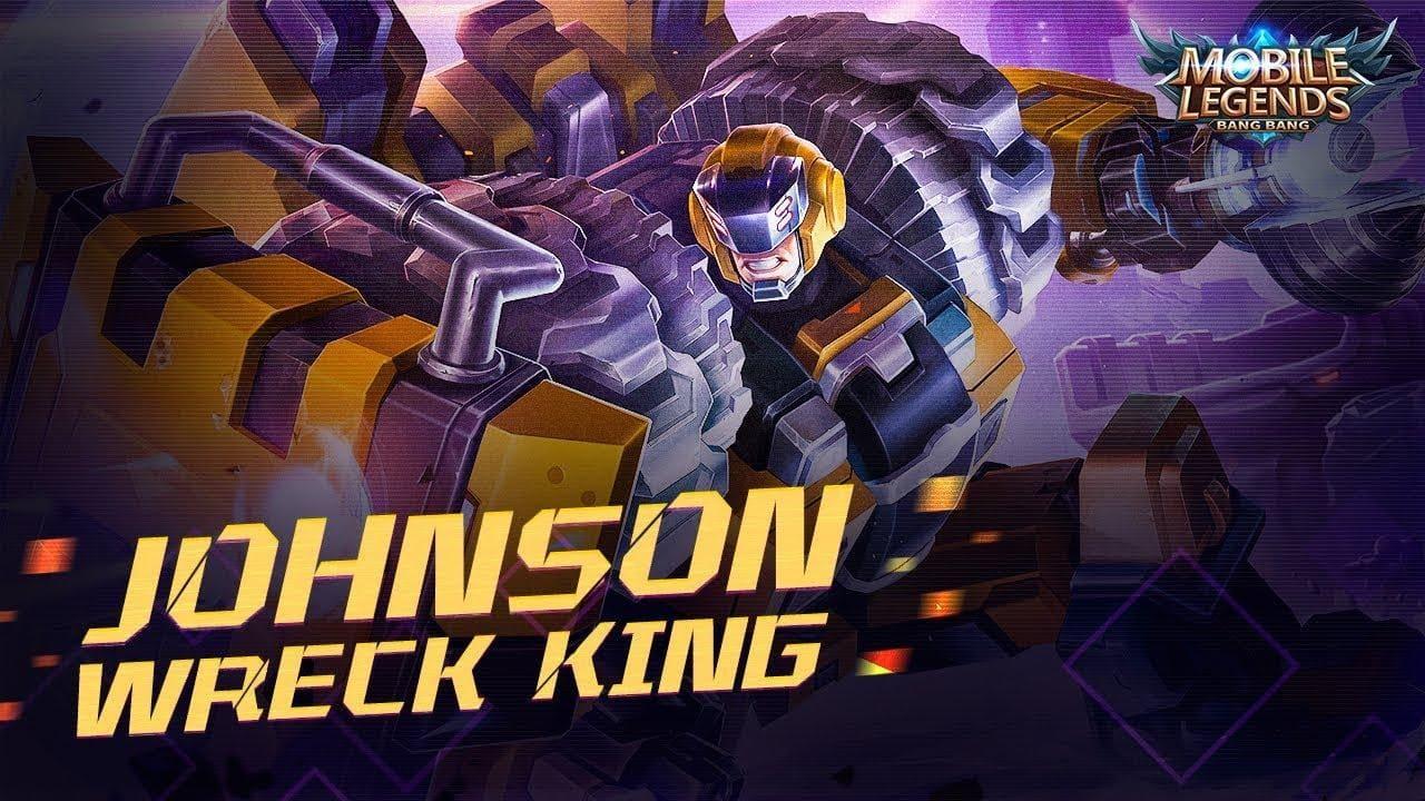Wallpaper Johnson Wreck King Skin Mobile Legends HD for PC