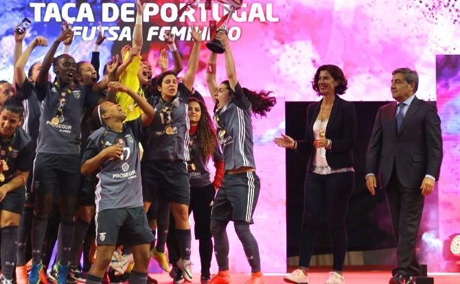 Benfica Vence Taça de Portugal de Futsal Feminino