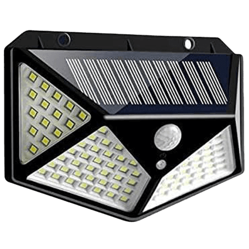 Solar Powered Motion Detector Lights | Solar Rechargeable Light For Home