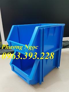 Khay nhựa đựng linh kiện, khay nhựa xếp chồng giá rẻ