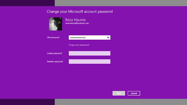 "bagian ""Create Password"" biarkan kosong, Next!"