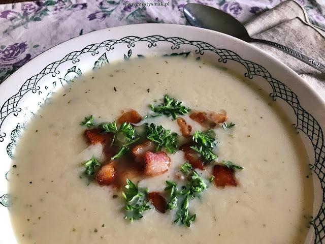 Zupa ze świeżego chrzanu