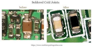 Solder Cold Joints