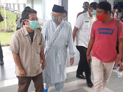 Ce-Ratu Jalani Tes Kesehatan di RSUD Raden Mattaher