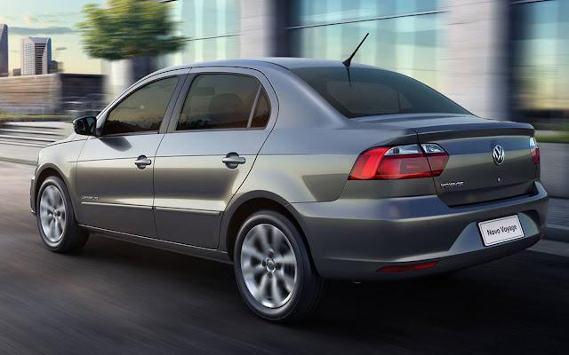VW Up!, Voyage e Gol serão equipados com pneus Dunlop