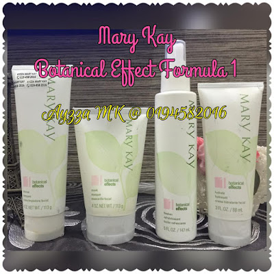 Mary kay Botanical Effect formula 1