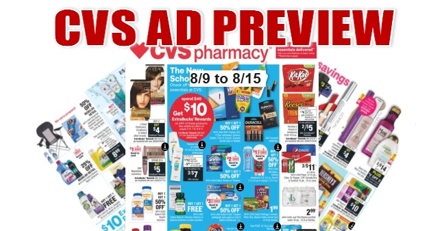 CVS Ad Scan 8-9 to 8-15
