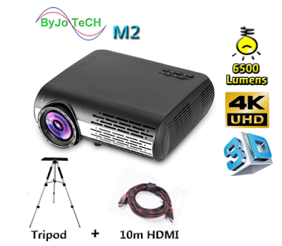 Poner Saund M2 LED 4K 2K FULL HD projector