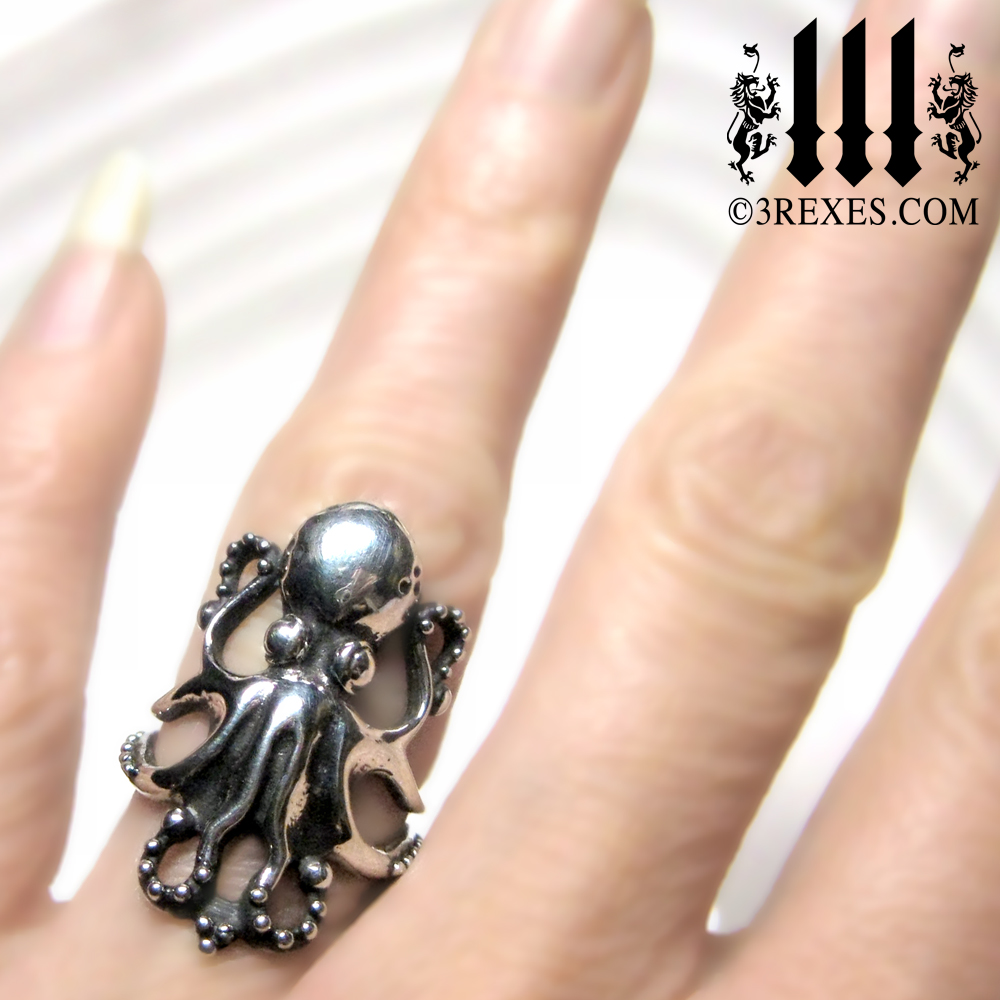 Octopus Wedding Ring