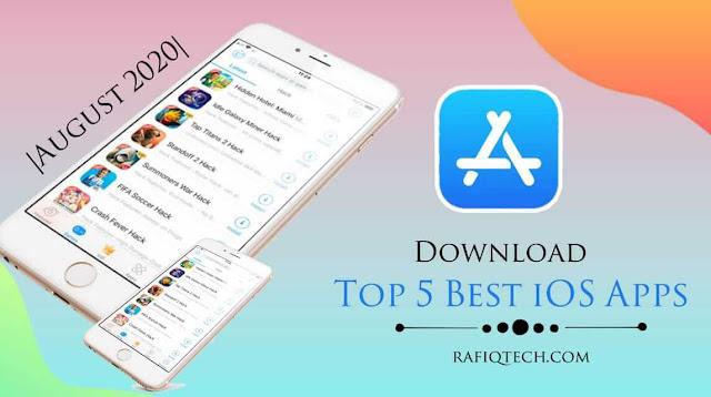 تحميل  أفضل 5 تطبيقات أبل iOS لشهر أغسطس 2020