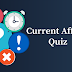 Current Affairs Quiz: 15-16 April 2018