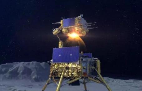 مختبر فضائي صيني يهبط على سطح كوكب القمر