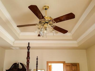 ceiling fan in house