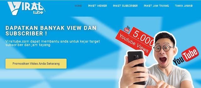 VIRALTUBE | Jasa Subscriber dan View Youtube GRATIS!